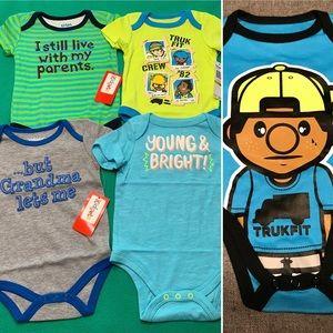 🆕 Baby Boy SS Bodysuit Bundle